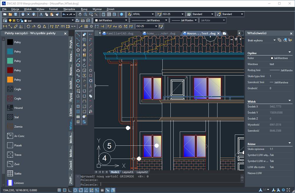 programy sweet home 3d modeli 3d projekt wizualizacji